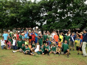 La Guara Sports Association's happy kids!